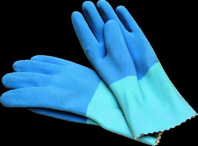 Fliesenlegerhandschuhe blau