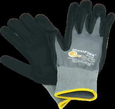Fliesenlegerhandschuhe schwarz