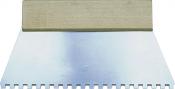 Kleberspachtel, verschiedene Zahnungen