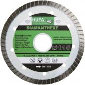 Hufa- Diamantbohrkronenset 4 teilig inkl. Koffer