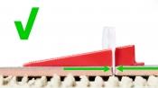 Fliesen- Nivelliersystem Verlegesystem, verschiedene Ausführungen