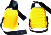 Knieschoner Kastenform, gelb